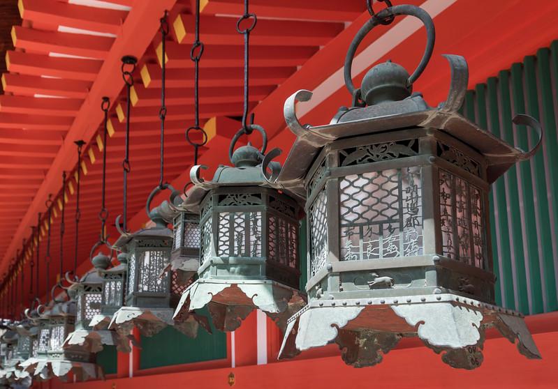 Bronze Lanterns, Kasuga Shrine, Nara