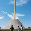 Flame of Freedom statue, Odaiba