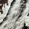 Icy Oshinkoshin Falls Close-up