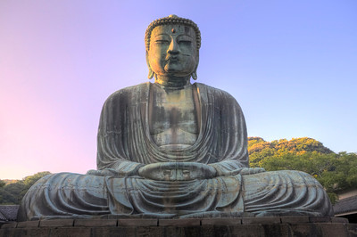 "Big Buddha #1. Kamakura. 25"" x 15"""