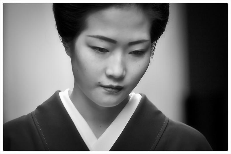 Maiko (舞妓)  an apprentice Geiko