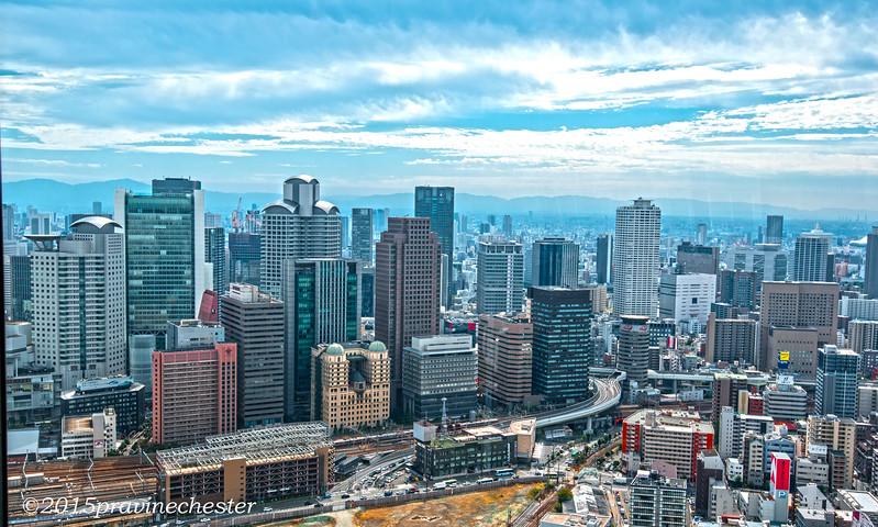 Osaka Skyline