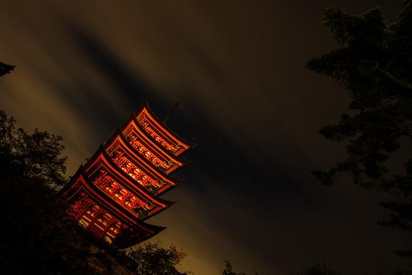 Night Pagoda