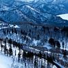 Bihoro Landscape and Winding Road
