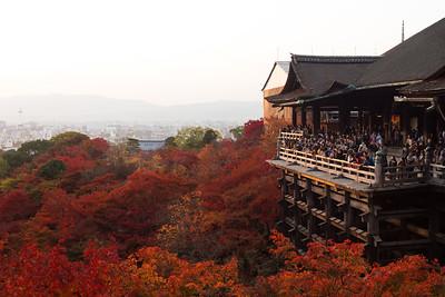 Autumn at Kiyomizu-dera