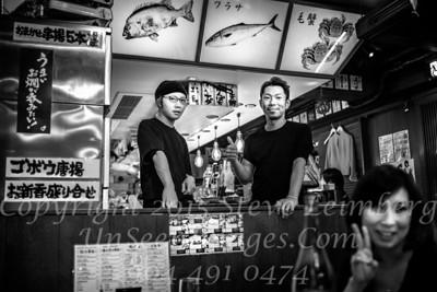 Chika at Sushi Place - Copyright 2017 Steve Leimberg UnSeenImages Com L1200430