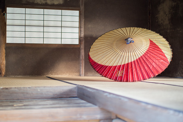 Japanese Umbrella • Kyoto