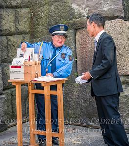 Guard at Gate of Temple - Copyright 2017 Steve Leimberg UnSeenImages Com _DSC2024