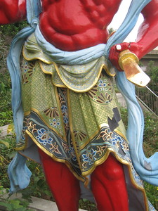 Akafudo, of Shingon Buddhist Sect, detail