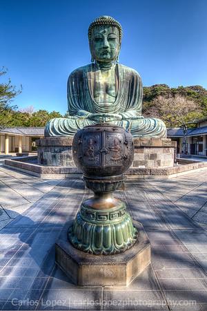 Large Buddah in Kamakura, Japan.