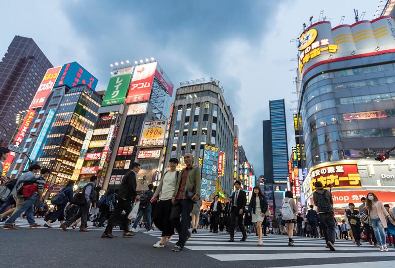 Kabukicho Crossing, Shinjuku