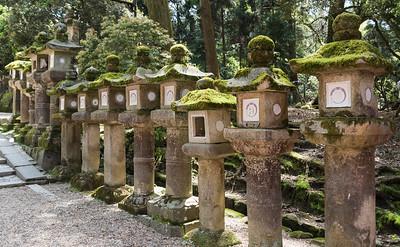 Toro lanterns, Kasuga Taisha, Nara