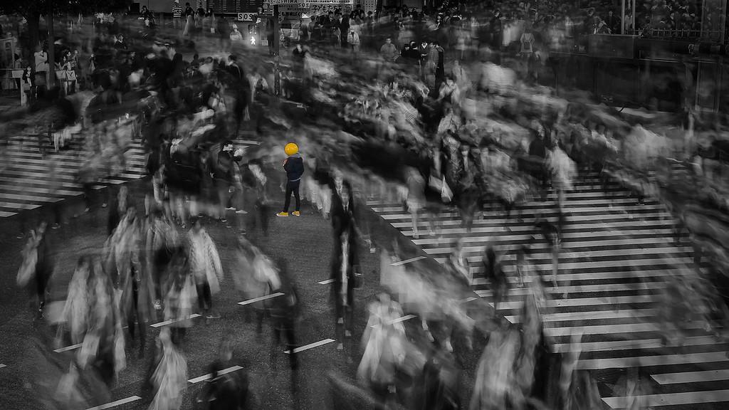 Shibuya Crossing; Tokyo; Japan