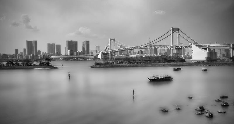 Rainbow Bridge; Tokyo; Japan