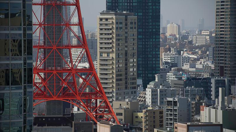 Tokyo Tower; Tokyo; Japan