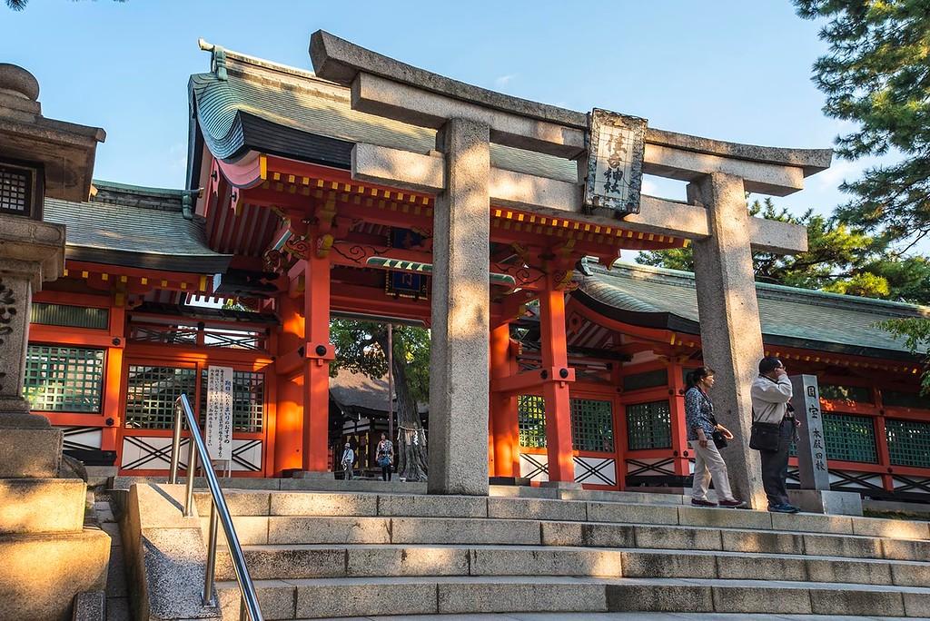 Sumiyoshi Taisha - Entrance