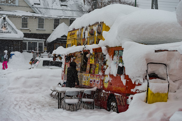 Food Trucks R&R - Hirafu, Japan