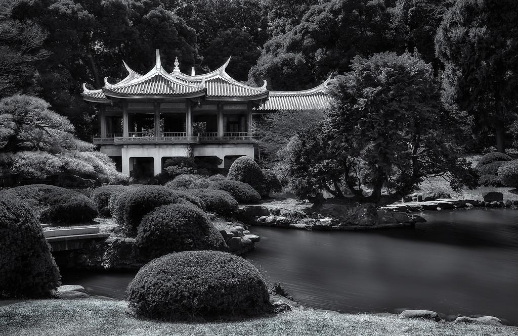 Taiwan Pavilion; Shinjuku Gyoen National Garden; Tokyo; Japan