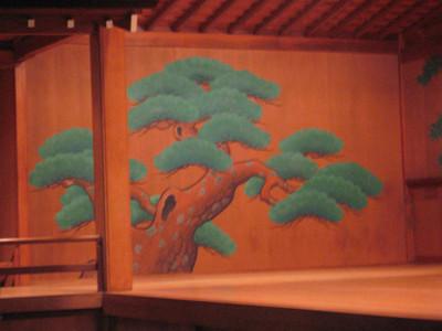 Nō Theatre stage.