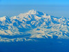 If this isn't Denali, I don't know what it is.  Can you believe that most people on the plane slept through this?  I'm sure I disturbed people by opening my window shade, but I gasped when I spied it!