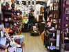 Always lots of little gift shops -- open at the front.  Yanaka.