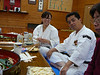 """Matsuda family.  I have invited the daughter to visit Pennsylvania.  She is really good at Shorinji Kempo.  See a little movie at:  <a href=""""http://s87.photobucket.com/albums/k121/brooks461/?action=view&current=MatsudaShinjoriKempo.flv"""">http://s87.photobucket.com/albums/k121/brooks461/?action=view&current=MatsudaShinjoriKempo.flv</a>"""