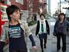 Moeko led the way to see her university, Keio University, in Tokyo.