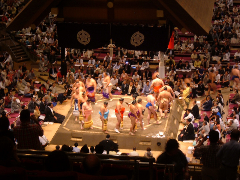 Sumo excursion for group