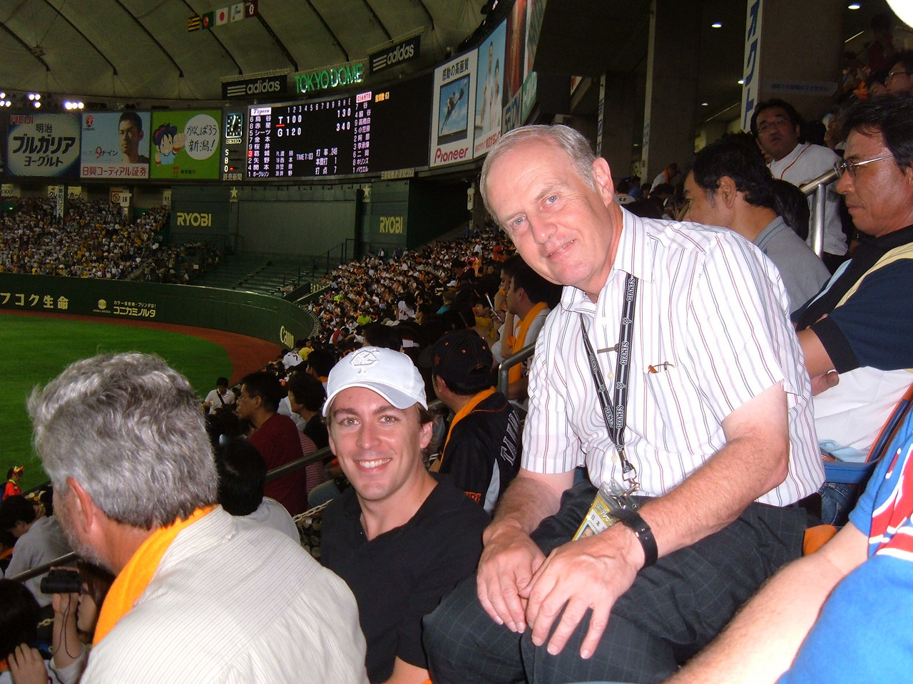 Jason Weitzel, Beerleaguer.com and Wayne Graczyk, The Japan Times