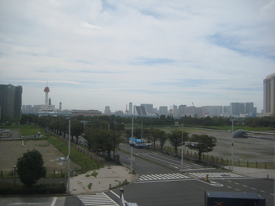 Taken during train ride around Tokyo Bay