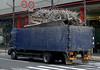 A scrap metal truck in Osaka, Japan in March 2015