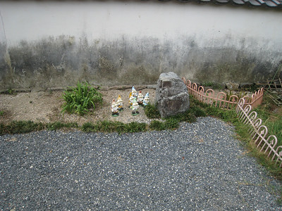 Garden gnomes at Iwakuni