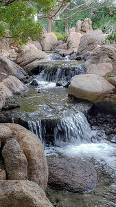 Cascading Mini Waterfalls