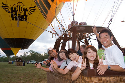 Take your whole family in a Hot Air Balloon!