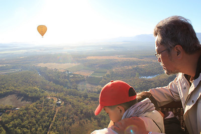 Amazing Views from a Hot Air Balloon