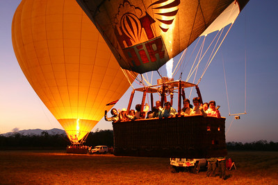 Group fun - Hot Air Ballooning