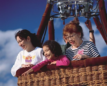 Hot Air Ballooning is for all ages!