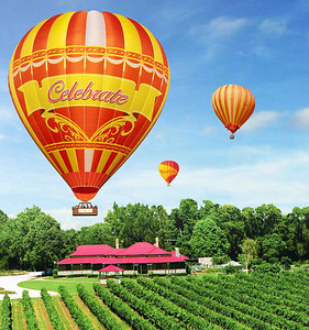 Gold Coast Hot Air Ballooning and O'Reilly's Vineyard Champagne Breakfast