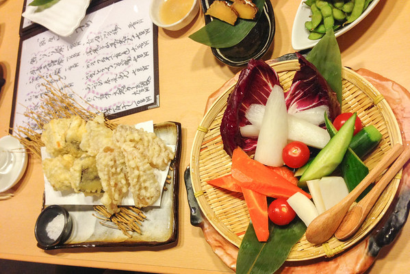 Embrace the side dishes | How to find vegetarian food in Japan