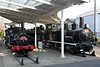 Nos 110 & 2221, Ome Railway Museum, north west Tokyo, 27 March 2019.