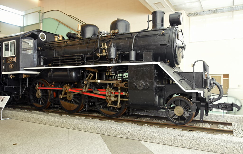C5631, Yushukan Museum, Yasukuni Shrine, Tokyo, 22 March 2019 1.  Here are nine photos of this lightweight 2-6-0, one of 164 built 1935 - 1937.  It was used on the notorious Thai - Burma 'Death' Railway built in 1942 - 1943 by local civilians and Allied prisoners of war.  Japanese brutality to their forced labourers was extreme.  About 90,000 civilians and more than 12,000 POWs died.