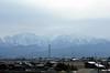Mountains near Nagano, 27 March 2019.  Seen from inside Kagayaki 508.