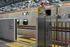 Hakutaka 558, Toyama station, 27 March 2019 2.  It was worked by an E7 series Shinkansen.  These travel at up to 260kmh / 160mph on the Hokuriku Shinkansen line.