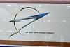 W7 series Shinkansen logo, 27 March 2019.  The arrow is a stylised figure 7.
