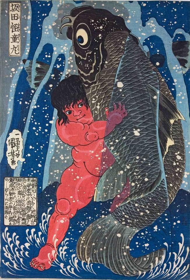Kuniyoshi, original. <br /> *Image taken off the internet. One of my favorites.