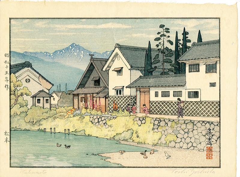 Matsumoto by Toshi Yoshida