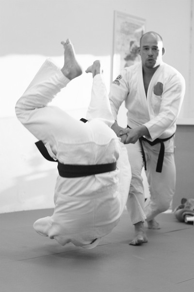 Throw from standing position.