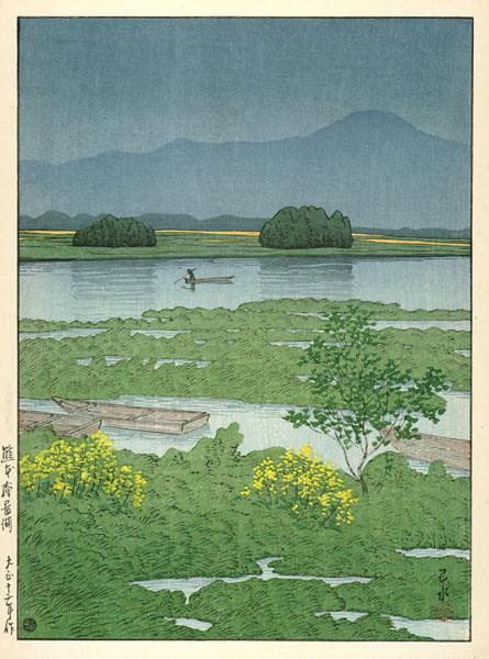 Ezu Lake, Kumamoto 1923