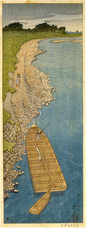 Cloudy Day at Yaguchi_1919