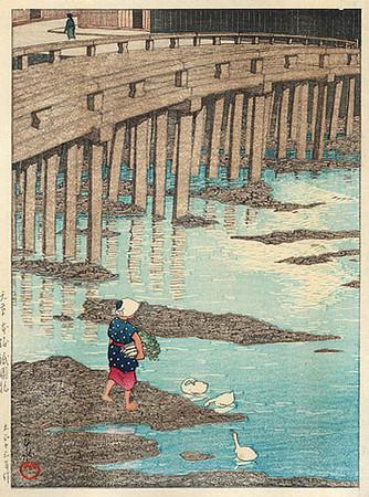 Gionbashi Bridge, Asakusa 1924